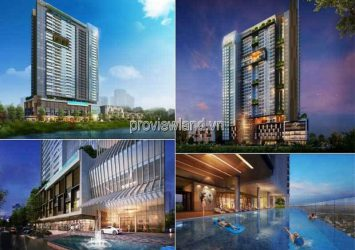 Selling apartment in Q2 Thao Dien tower T3 high floor 4 bedrooms no furniture