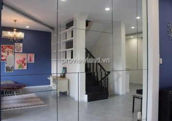 Townhouse for rent front of Street 60 Thao Dien including 3 floors terrace