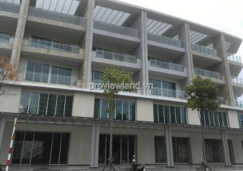 Shophouse for rent in Sari Town District 2 has 1 basement 4 floors suitable for office